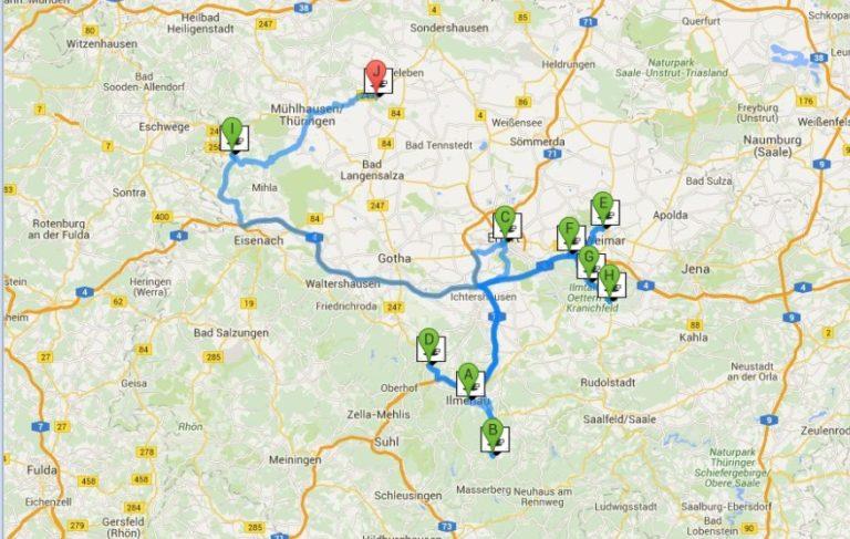 Grafische Routenplanung